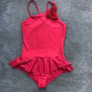 Lands End girls swimming suit size 14